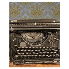 Typewriter Drawstring Bag (large)