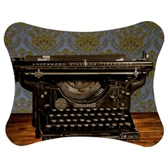 Typewriter Jigsaw Puzzle Photo Stand (bow)
