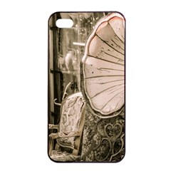 Flea Market Redord Player Apple Iphone 4/4s Seamless Case (black)