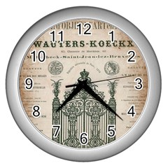 Building News Wall Clocks (silver)