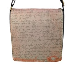 Letter Flap Messenger Bag (l)
