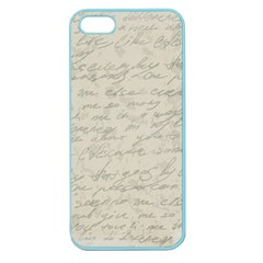 Handwritten Letter 2 Apple Seamless Iphone 5 Case (color)