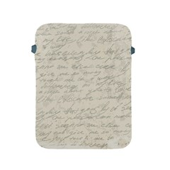 Handwritten Letter 2 Apple Ipad 2/3/4 Protective Soft Cases