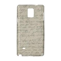 Handwritten Letter 2 Samsung Galaxy Note 4 Hardshell Case