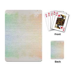 Page Spash Playing Card