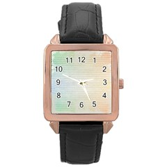 Page Spash Rose Gold Leather Watch