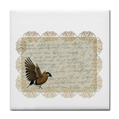 Tag Bird Tile Coasters