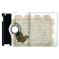 Tag Bird Apple Ipad 3/4 Flip 360 Case