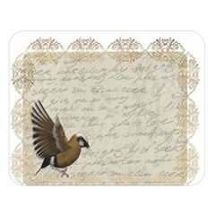 Tag Bird Double Sided Flano Blanket (large)