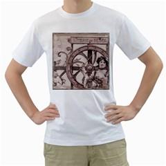 Lottery Men s T Shirt (white)