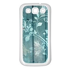 Green Tree Samsung Galaxy S3 Back Case (white)