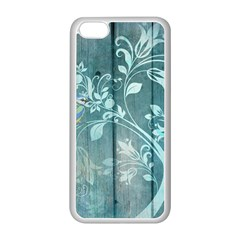 Green Tree Apple Iphone 5c Seamless Case (white)