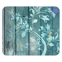 Green Tree Double Sided Flano Blanket (small)