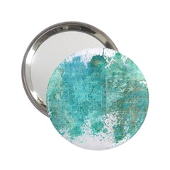Splash Teal 2 25  Handbag Mirrors