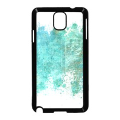 Splash Teal Samsung Galaxy Note 3 Neo Hardshell Case (black)