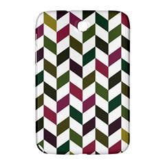 Zigzag Chevron Pattern Green Purple Samsung Galaxy Note 8 0 N5100 Hardshell Case