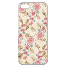 Background 1659247 1920 Apple Seamless Iphone 5 Case (clear)