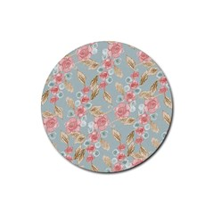 Background 1659236 1920 Rubber Round Coaster (4 Pack)