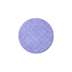 Dot Blue Golf Ball Marker