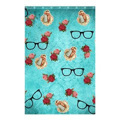Vintage Glasses Shower Curtain 48  X 72  (small)
