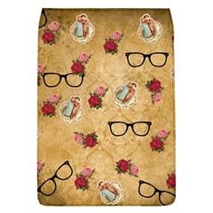 Vintage Glasses Beige Flap Covers (l)
