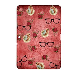 Vintage Glasses Rose Samsung Galaxy Tab 2 (10 1 ) P5100 Hardshell Case
