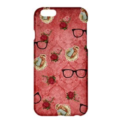 Vintage Glasses Rose Apple Iphone 6 Plus/6s Plus Hardshell Case