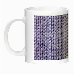 Knitted Wool Lilac Night Luminous Mugs