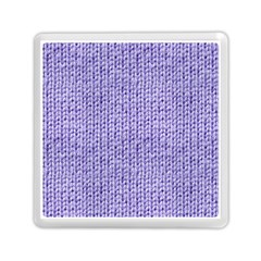 Knitted Wool Lilac Memory Card Reader (square)