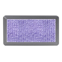 Knitted Wool Lilac Memory Card Reader (mini)