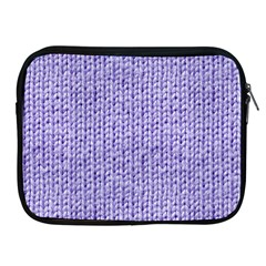 Knitted Wool Lilac Apple Ipad 2/3/4 Zipper Cases