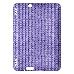 Knitted Wool Lilac Kindle Fire Hdx Hardshell Case