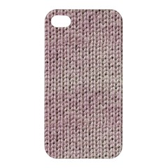 Knitted Wool Pink Light Apple Iphone 4/4s Hardshell Case