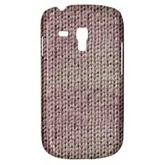 Knitted Wool Pink Light Galaxy S3 Mini