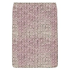 Knitted Wool Pink Light Flap Covers (l)
