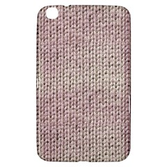 Knitted Wool Pink Light Samsung Galaxy Tab 3 (8 ) T3100 Hardshell Case