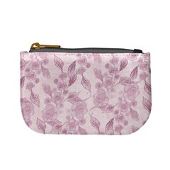 Pink Floral Mini Coin Purses