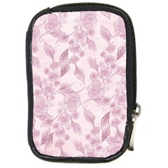 Pink Floral Compact Camera Cases