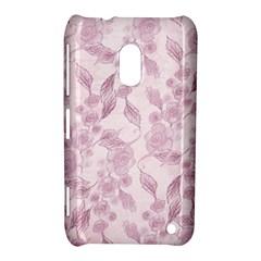 Pink Floral Nokia Lumia 620