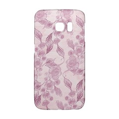 Pink Floral Galaxy S6 Edge