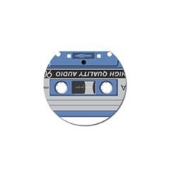 Cassette 40268 1280 Golf Ball Marker (4 Pack)