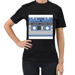 Cassette 40268 1280 Women s T Shirt (black)