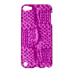 Knitted Wool Square Green Apple Ipod Touch 5 Hardshell Case