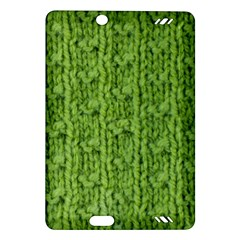 Knitted Wool Chain Green Amazon Kindle Fire Hd (2013) Hardshell Case
