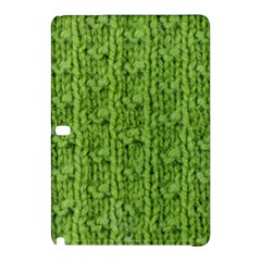 Knitted Wool Chain Green Samsung Galaxy Tab Pro 12 2 Hardshell Case