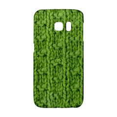 Knitted Wool Chain Green Galaxy S6 Edge