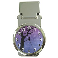Silhouette Tree Money Clip Watches