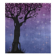 Silhouette Tree Shower Curtain 66  X 72  (large)