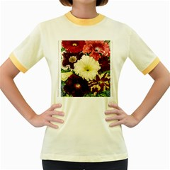 Flowers 1776585 1920 Women s Fitted Ringer T Shirts