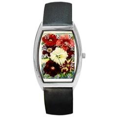 Flowers 1776585 1920 Barrel Style Metal Watch